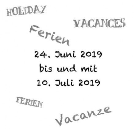 Ferien Juni 19